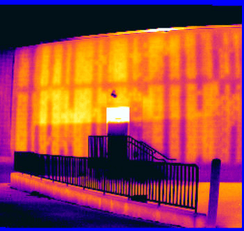 Block Wall Cmu Scan Ir Infrared Thermal Imaging Services