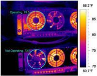 data center infrared image